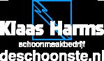 Logo van Schoonmaakbedrijf Klaas Harms